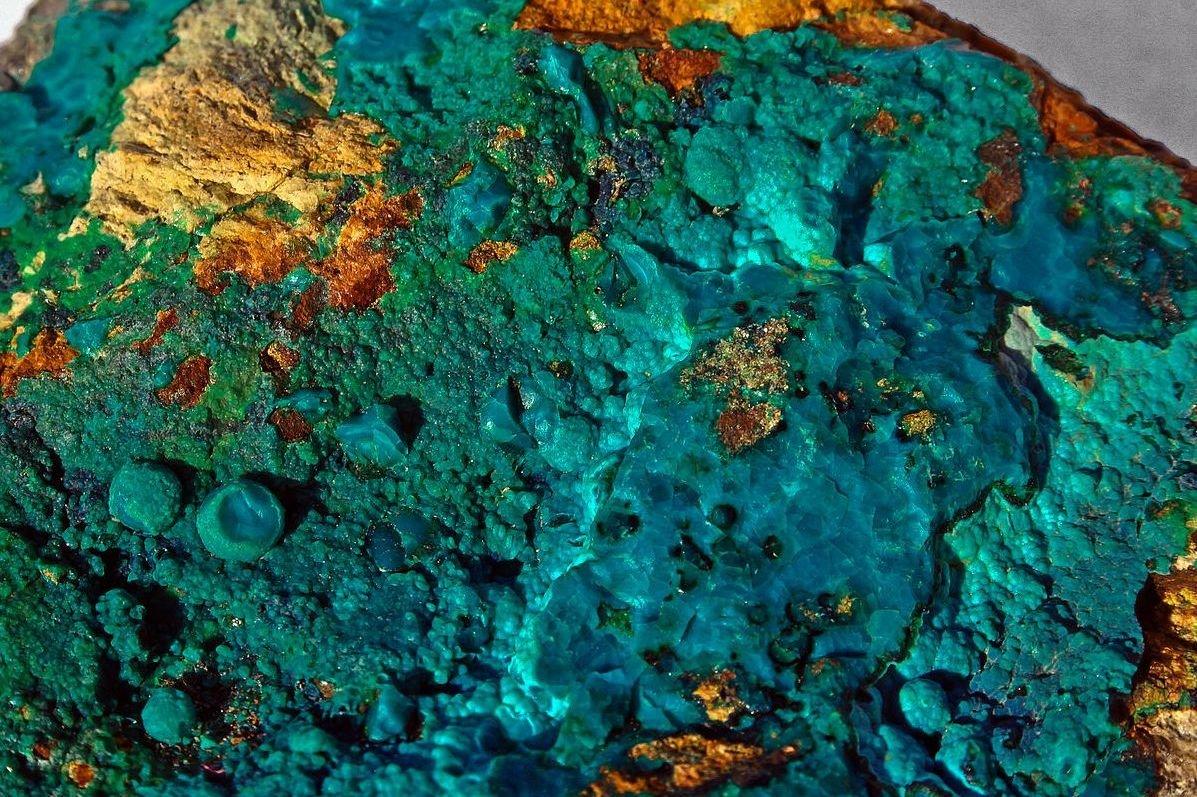 Minerales de Silicato.